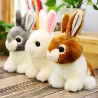 儿童玩偶生日礼物女孩可爱仿真兔子毛绒玩具小白兔公仔兔兔布娃娃
