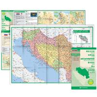世界分国地图・欧洲-斯洛文尼亚 克罗地亚 波斯尼亚和黑塞哥维那 塞尔维亚 黑山 马其顿地图