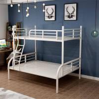 铁艺上下高低床上下床铁床欧式双层床 其他 1.2米1.5米