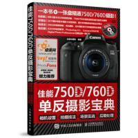 佳能750D 760D单反摄影宝典 相机设置 拍摄技法 场景北极光 摄影人民邮电出版社