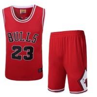 公牛队23号乔丹红色球衣白色篮球服23号乔丹1号罗斯24号科比3号艾弗森35号杜兰特2号欧文23号詹姆斯