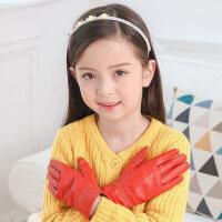儿童手套小学生防水玩滑雪男女童秋冬天女孩五指保暖分指加绒新品