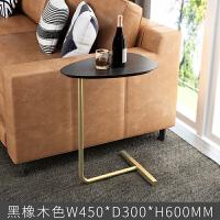 北欧沙发边几简约创意移动茶几小桌子客厅小型铁艺角几置物架