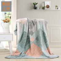 家纺法兰绒毛毯加厚保暖单人双人毯子瑞思哲法兰绒毯定制 瑞思哲法兰绒毯