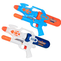 【限时抢】泼水节抽拉式高压沙滩水枪玩具戏水玩具水枪 儿童夏季热卖呲水枪