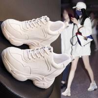 内增高老爹鞋女韩版休闲百搭厚底运动鞋时尚小白鞋女