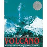 Volcano 火山:圣海伦斯火山的爆发和熄灭 (1987年纽伯瑞银奖) ISBN 9780689716799