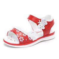 夏季宝宝凉鞋1-3岁儿童皮凉鞋公主单鞋潮