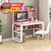 简易电脑桌台式家用书桌多功能书桌子卧室写字台学生学习桌办公桌