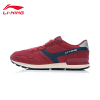 李宁休闲鞋男鞋运动生活系列耐磨防滑复古运动鞋ALCJ015