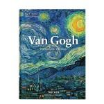【�F�正版包�]】Van Gogh 梵高���约� TASCHEN 英文原版�M口 油����g作品后印象 小�_本 梵高��作 744�