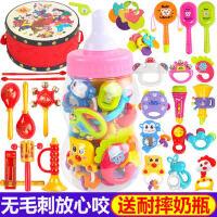 新生婴儿益智玩具0-1岁宝宝男女孩3-6-7-12个月幼儿抓握摇铃牙胶8