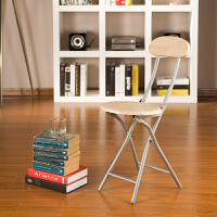 [当当自营]好事达 实惠木面靠背钢折椅6591 椅子 折叠休闲椅 电脑椅