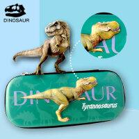 新代笔袋夜光恐龙创意立体文具盒大空间儿童笔袋小学生男生笔袋