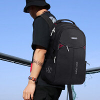 商务电脑包双肩包男时尚潮流学生书包韩版大容量背包男新款旅行包