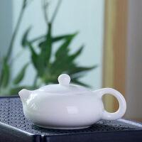 玉瓷手工西施茶�靥沾尚√�泡茶器德化白瓷茶具�^�V�U意脂白骨瓷��