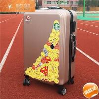 拉杆箱子母箱女20寸小清新行李箱万向轮旅行箱24寸26寸密码登机箱