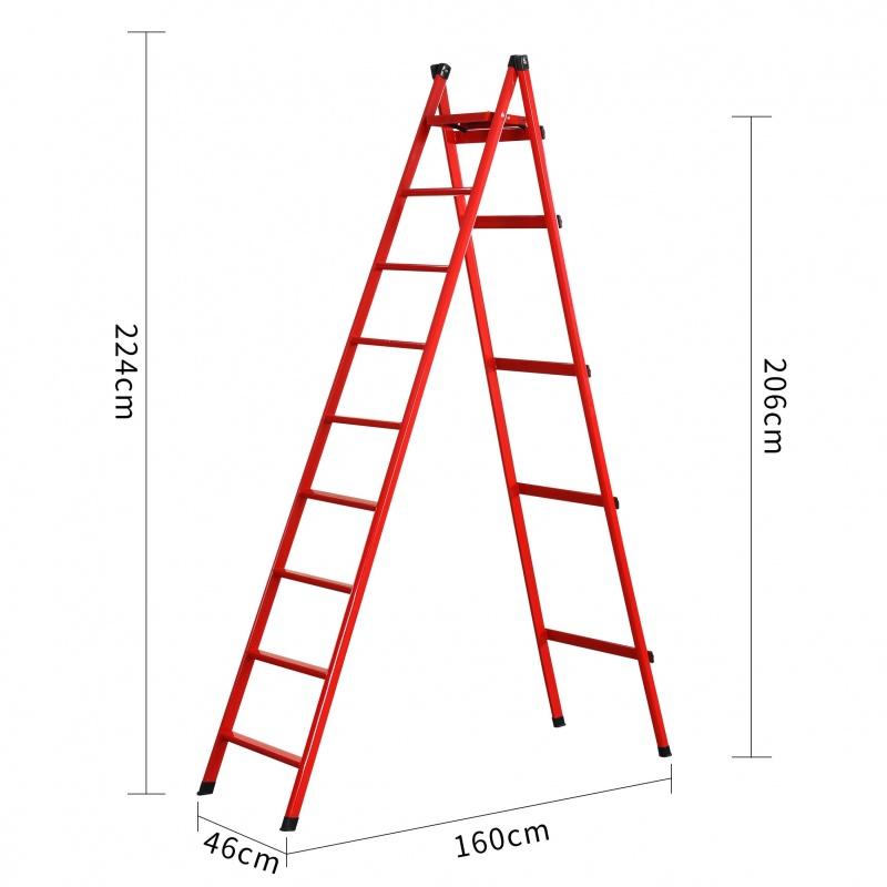 人字梯子家用折叠三四五六七步阁楼梯室内多功能加厚2米加高 本店部分商品为定制产品,页面等品牌等参数均仅供参考,并非实物,默认拍下的为同意页