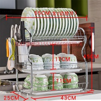 厨房置物架用品用具晾洗放沥水碗架碗柜碗碟碗筷盘刀收纳盒餐具架