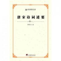 唐宋诗词述要/当代中国学术文库