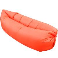 户外懒人充气床 便携式空气懒人快速冲气床充气垫午休床 单人野外充气沙发床 260*70cm