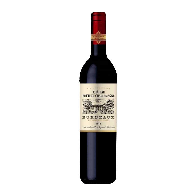 查理曼高地堡干红葡萄酒750ml 1瓶装【店庆促销】下单即送蝶翼立体眼膜一片装
