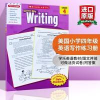 华研原版 美国小学四年级英语写作练习册 英文原版学乐英语教材 Scholastic Success with Writ