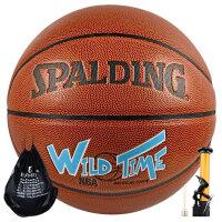SPALDING/斯伯丁篮球 PU皮室内外NBA用球74-140