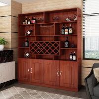 客厅隔断柜简约现代靠墙酒柜装饰柜餐厅柜屏风厨房储物柜玄关柜子 双门