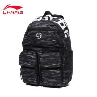 李宁双肩包男包女包2020新款BADFIVE系列篮球系列背包运动包ABSQ036