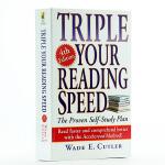 【中商原版】三倍 飞速提高你的阅读速度 英文原版 Triple Your Reading Speed, Fourth