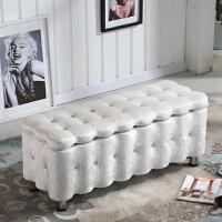 北欧服装店沙发凳长方形双人创意门口换鞋储物收纳凳子可坐