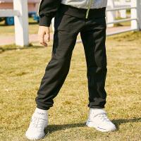 【3件3折到手价:57】小猪班纳童装男童裤子2020春装新款中大童运动裤纯棉时尚休闲长裤