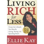 LIVING RICH FOR LESS(ISBN=9780307446015) 英文原版