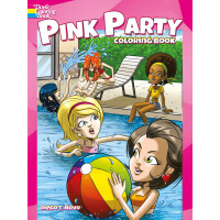 Pink Party Coloring Book