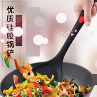 不粘锅锅铲硅胶铲子汤勺耐高温专用铲厨房用品厨具炒菜铲子护锅铲 r6s