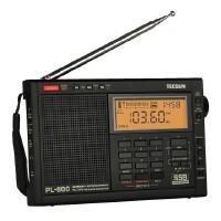 Tecsun/德生 PL-600全波段短波数字变频充电收音机老人半导体收音机