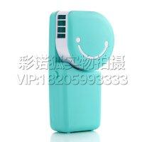 口袋便携式迷你风扇 手持式USB电池两用无叶小风扇 空调扇