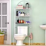 索尔诺厕所卫生间马桶架 浴室洗手间层架置物架子落地壁挂收纳架Z713