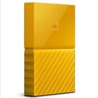 【当当正品店】西部数据(WD)移动硬盘 1T My Passport 移动硬盘 1TB 2.5英寸  清新黄 移动硬盘1TB