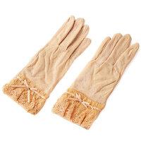 薄短款手臂套袖手袜开车防滑透气防紫外线手套女蕾丝手套女
