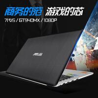 华硕(ASUS)A401UQ7200 14英寸游戏笔记本电脑 i5-7200U 4G 500G 2G独显 高清屏
