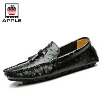 Apple苹果 时尚男休闲鞋英伦男鞋休闲皮鞋男百搭鞋板鞋男单鞋 5132211