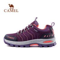 camel骆驼户外登山鞋男女 秋冬季防滑减震耐磨低帮徒步鞋