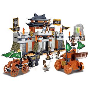 【当当自营】小鲁班三国系列儿童益智拼装积木玩具 合淝之战M38-B0265