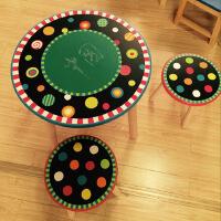 宝宝学习桌套装小孩书桌幼儿园实木游戏写字桌凳组合儿童桌椅