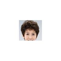 中老年假发真发短发女送妈妈中年女式短卷发气质微卷假头发送奶奶