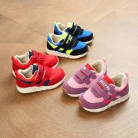 春季儿童运动鞋男童网面机能鞋女童鞋子宝宝学步鞋1-3岁2