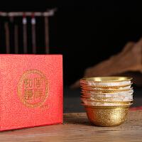 藏传佛教用品密宗法器八吉祥摆件供杯圣水杯佛堂护法杯供碗供水杯