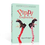 顺丰发货 英文原版 Pippi Longstocking 长袜子皮皮系列8-12岁学童阅读启蒙 桥梁书 小说